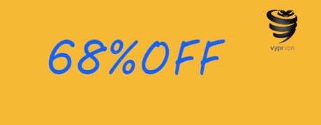 Get 68% OFF Discount