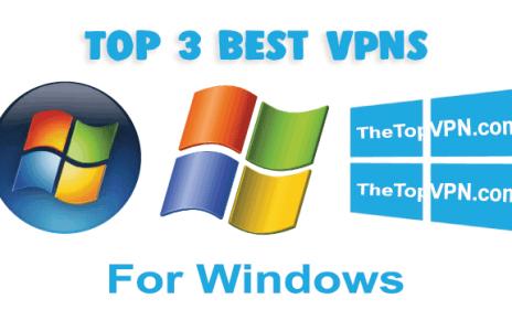 top 3 best vpn for windows